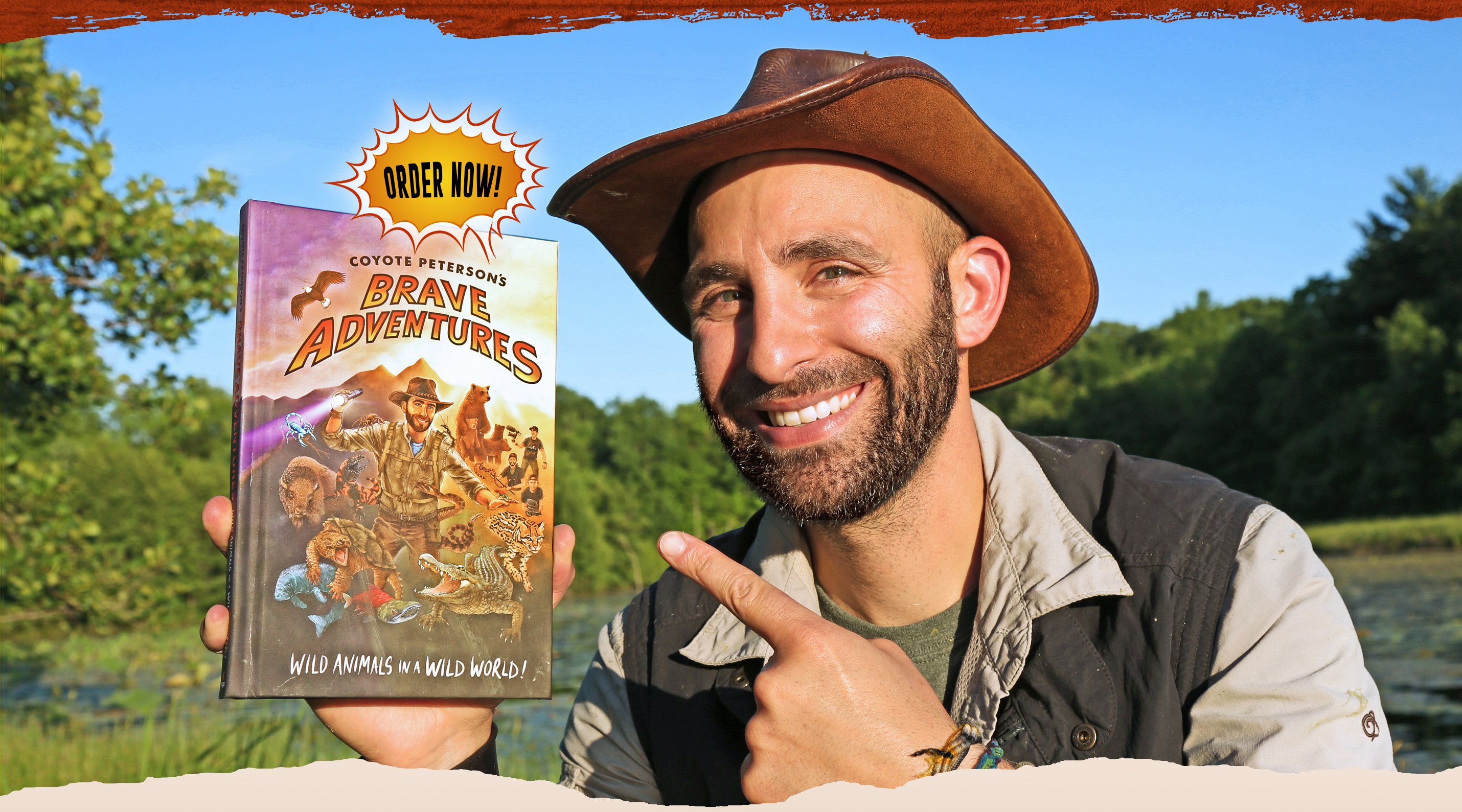 Coyote Peterson's Brave Adventures: Wild Animals in a Wild World. Order Now!