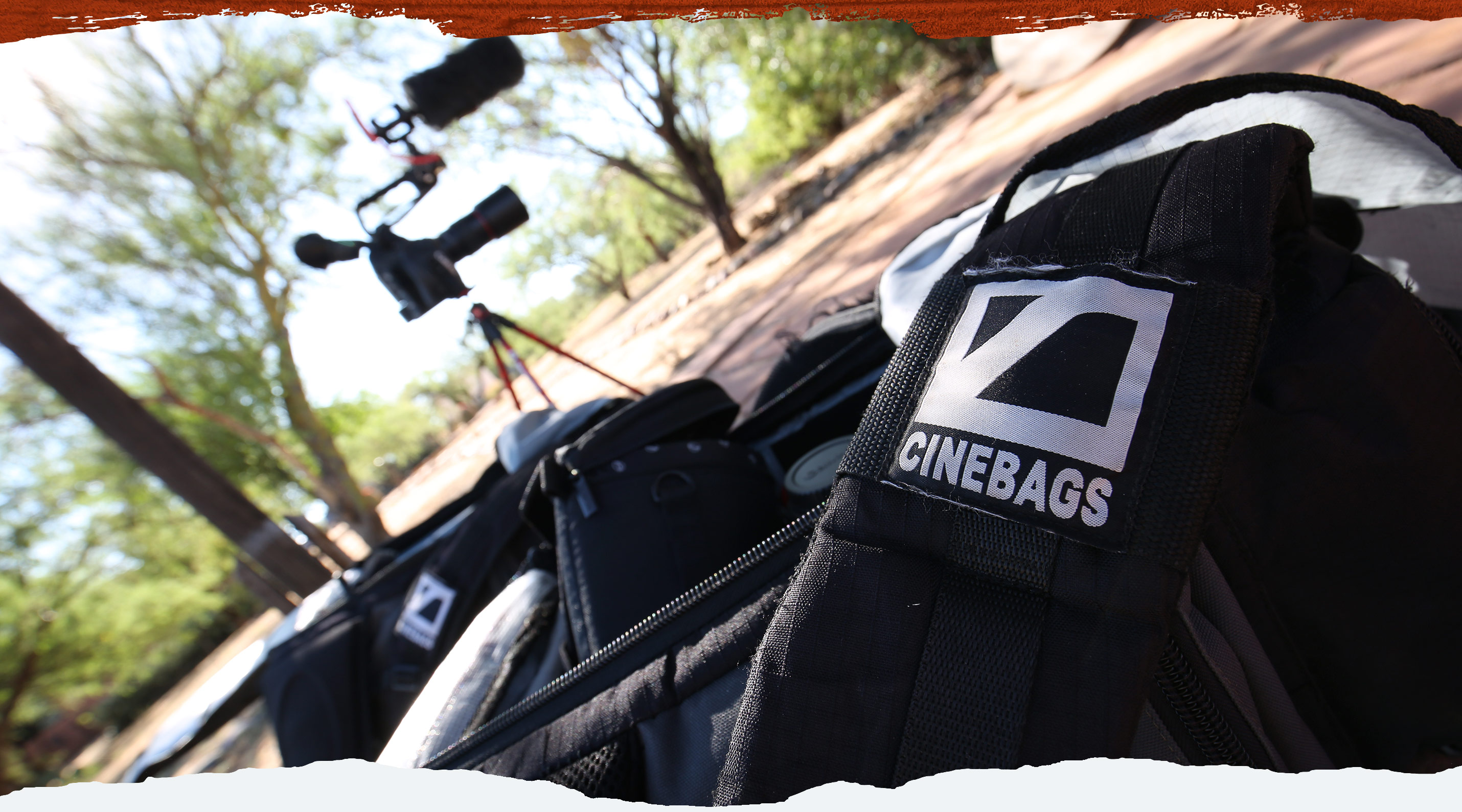 Cinebags - Coyote Peterson Sponsor