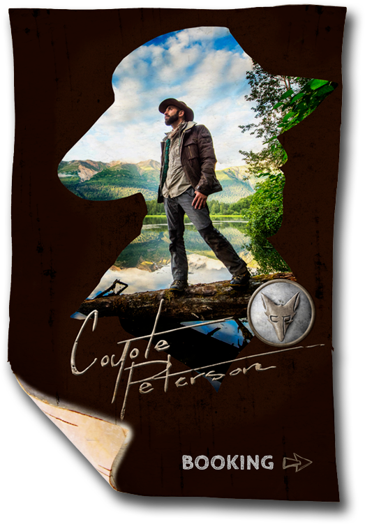 Coyote Peterson Booking