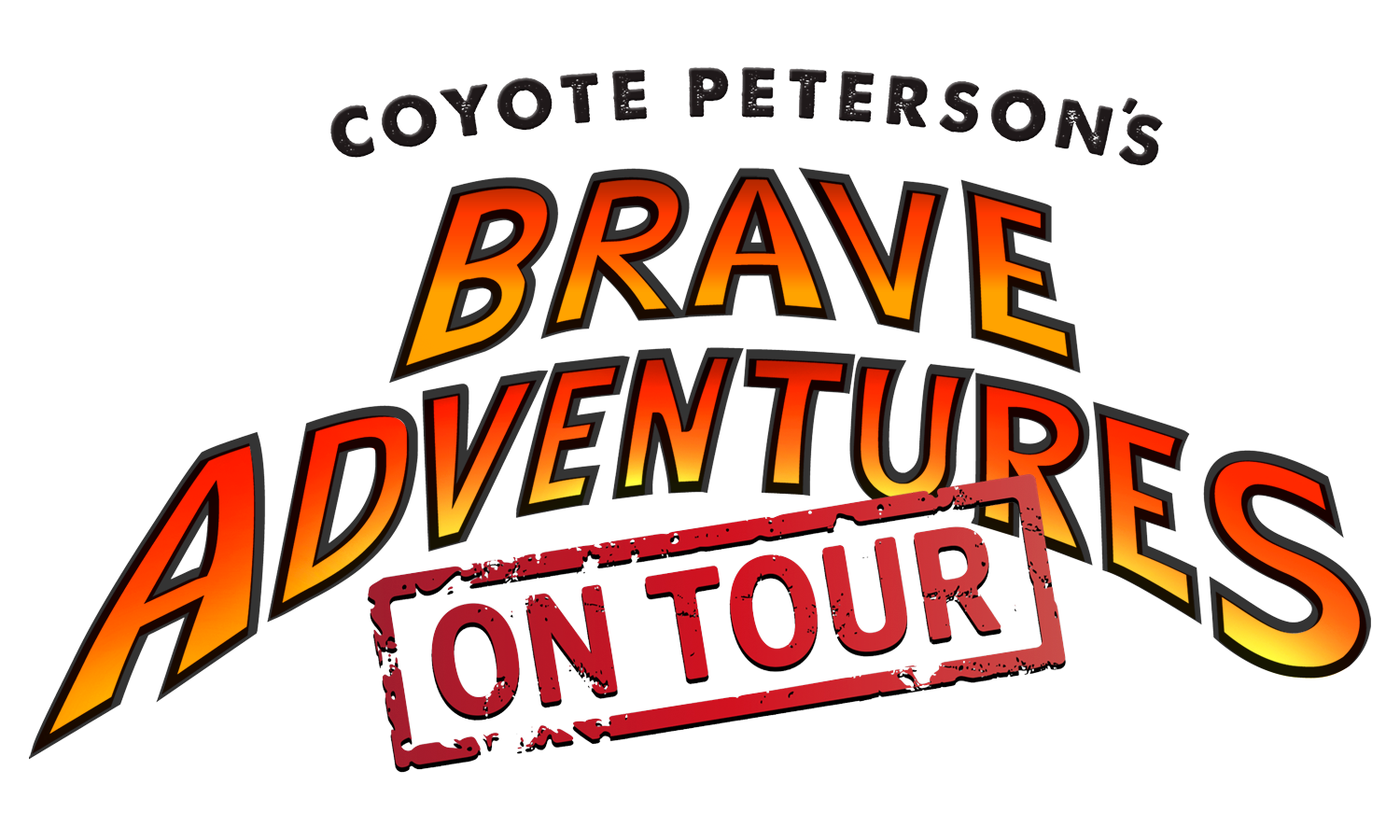 Coyote Peterson Brave Adventures on tour