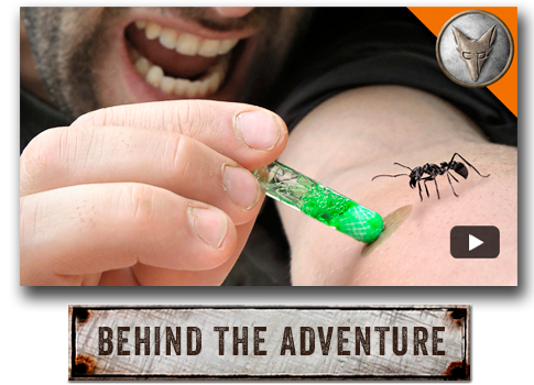Behind the Adventure with Coyote Peterson.