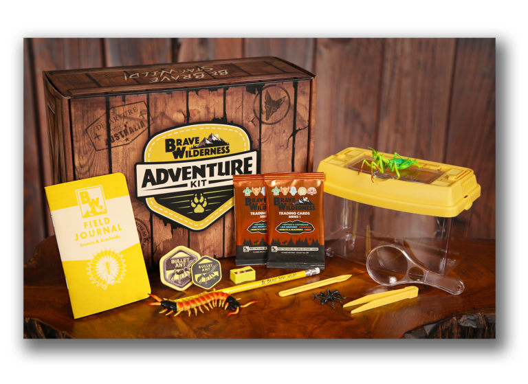 Brave Wilderness Adventure Kits Available