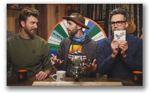 Coyote on Good Mythical Morning