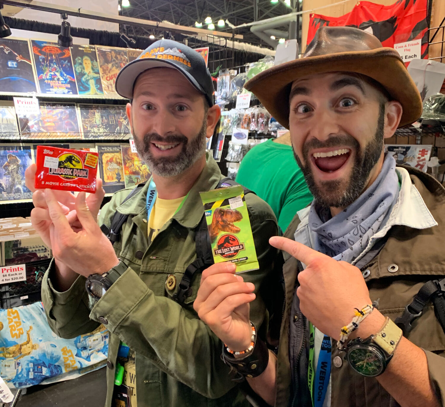 Coyote and Mario traveled to New York to speak at NYC Comic-Con!