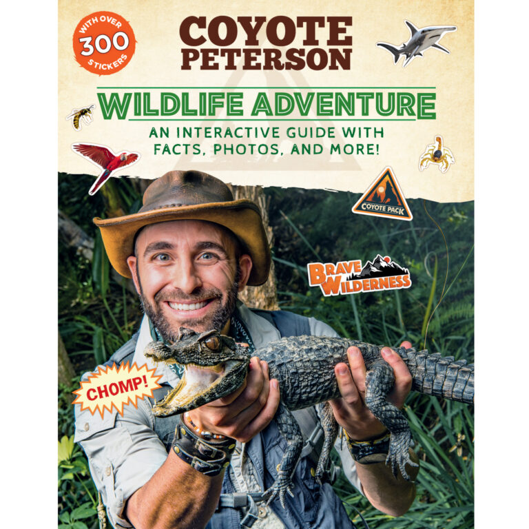 In this official interactive adventure guide, Coyote Peterson leads readers around the world to learn about animals and the environments they call home