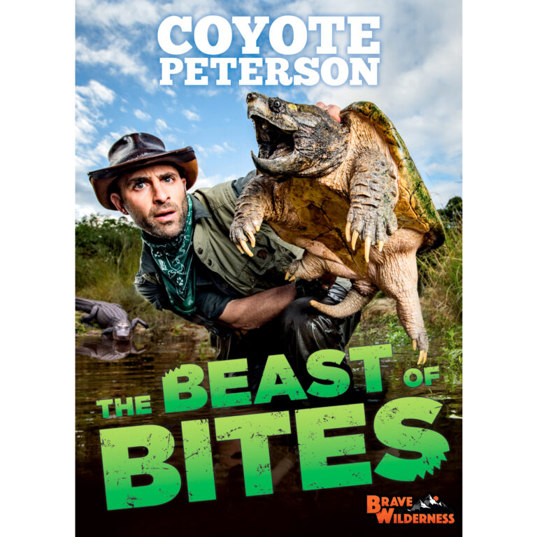 In The Beast of Bites, Coyote chronicles his most memorable–and painful–bites from his wildest animal encounters seen on the Brave Wilderness YouTube channel.