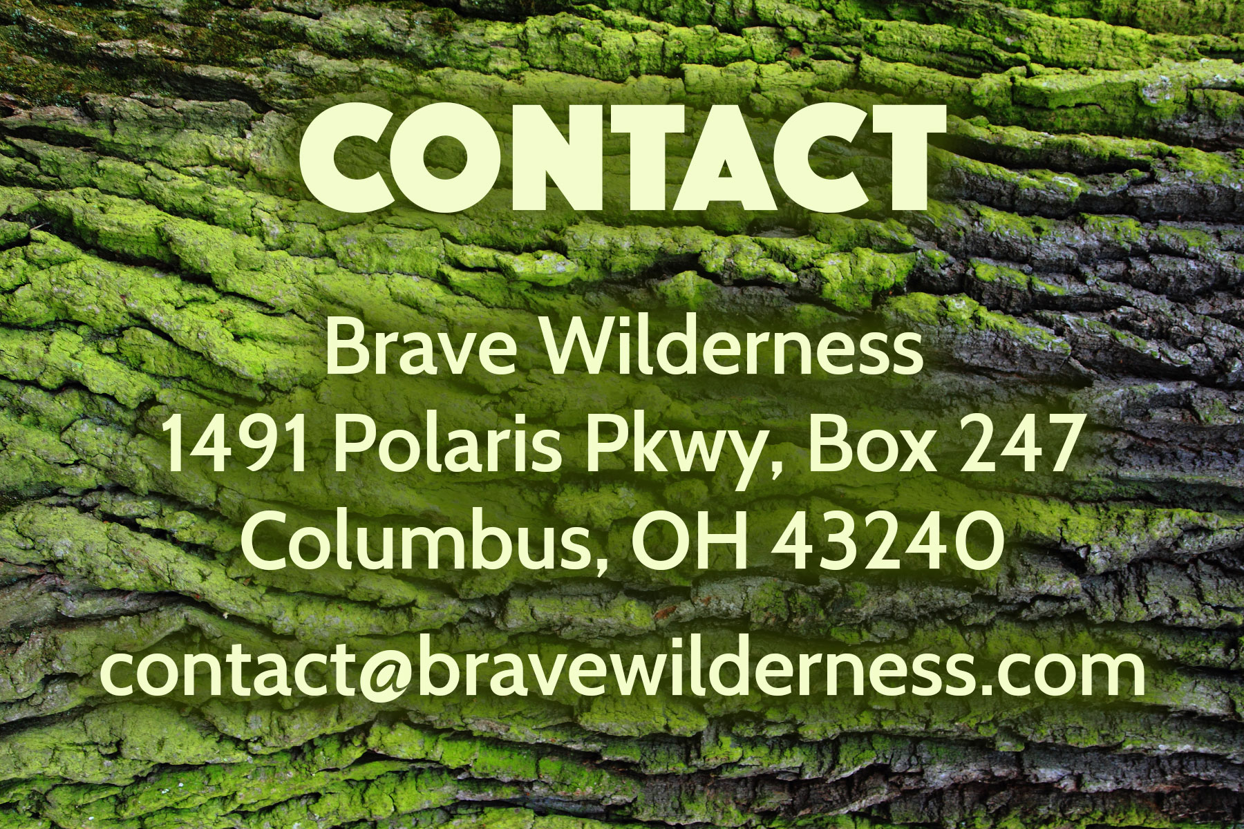 Contact Brave Wilderness
